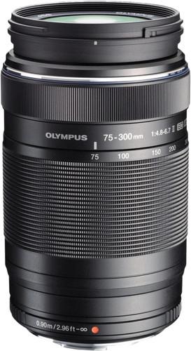 Olympus M.Zuiko Digital ED 75-300mm f/4.8-6.7 II Black Main Image