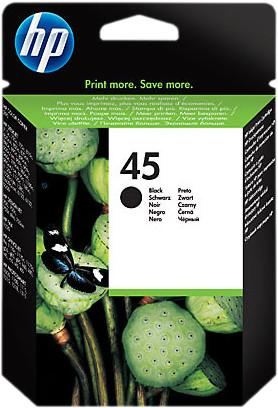 HP 45XL Cartridge Black Main Image
