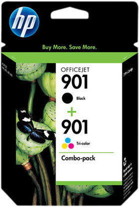 HP 901 Cartridges Combo Pack Main Image