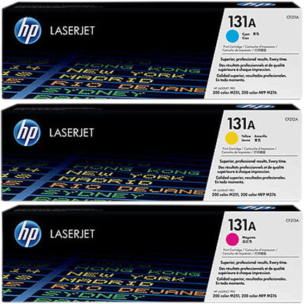HP 131A Toners Combo Pack Main Image