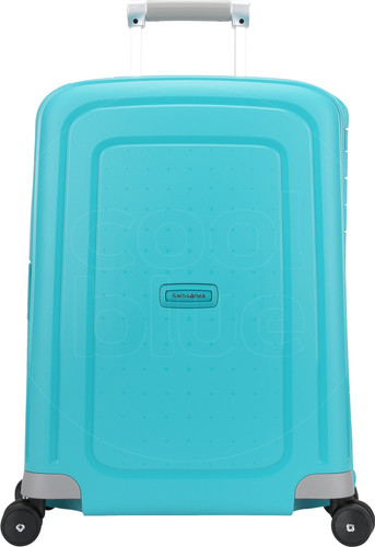 Samsonite S'Cure Spinner 55cm Aqua Blue Main Image