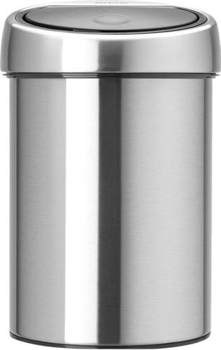 Brabantia Touch Bin 3 Liter Matt Steel Main Image