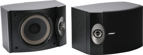 Bose 301 Black (per pair) Main Image