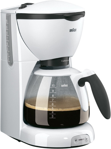 Braun CafeHouse Pure Aroma Deluxe KF520/1 Wit Main Image
