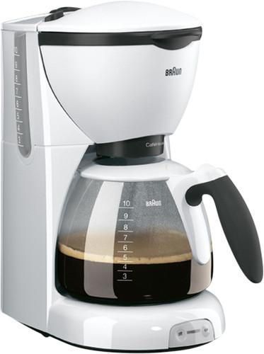 Braun CafeHouse Pure Aroma Deluxe KF520/1 White Main Image