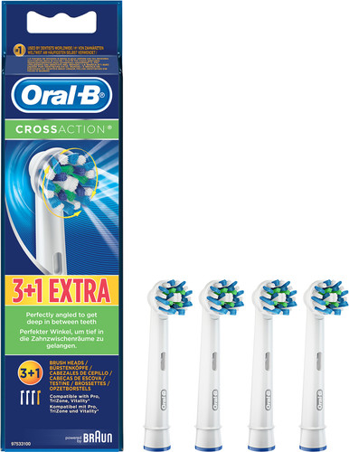 Oral-B Cross Action (4 stuks) Main Image