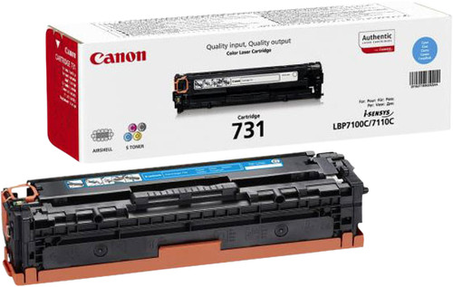 Canon 731 Toner Cartridge Cyan Main Image