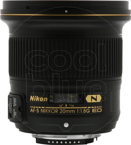 Nikon AF-S 20mm f/1.8G ED Main Image