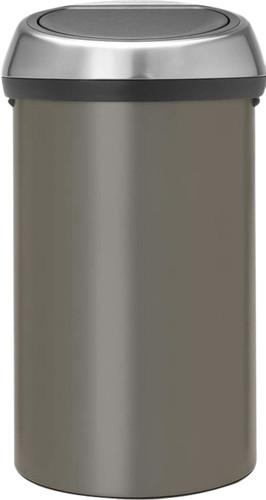 Brabantia Touch Bin 60 Liter Platinum Main Image