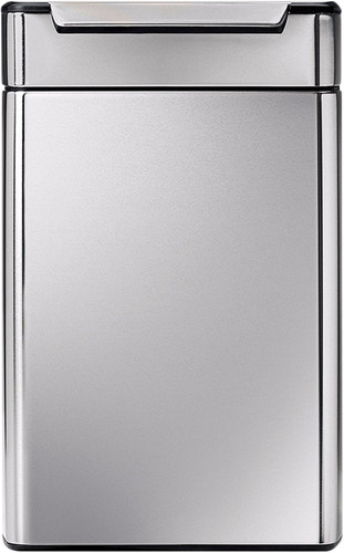 Simplehuman Rectangular Touch Bar Recycler 24+24 Liter Main Image