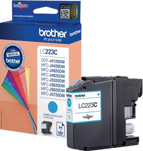 Brother LC-223 Cartridge Cyan Main Image