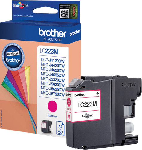 Brother LC-223M Cartridge Magenta Main Image