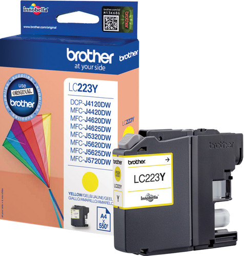 Brother LC-223 Cartridge Geel Main Image