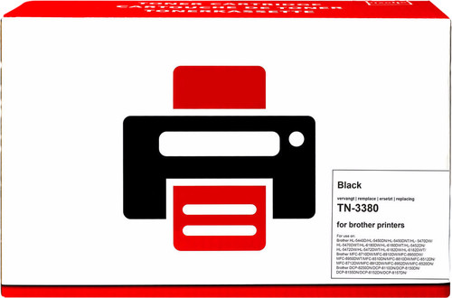 Pixeljet TN-3380 Toner Cartridge Black XL for Brother printers (TN-3380) Main Image