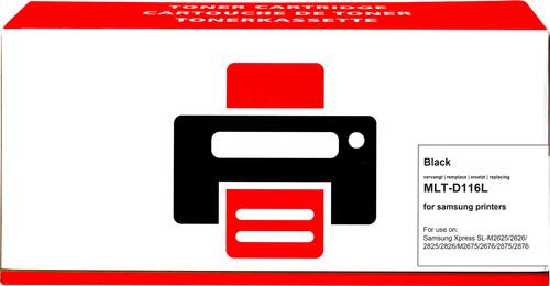 Pixeljet MLT-D116L Toner Zwart XL voor Samsung printers Main Image