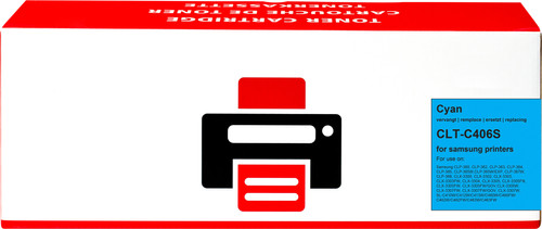 Pixeljet CLT-C406S Toner Cyaan voor Samsung printers Main Image