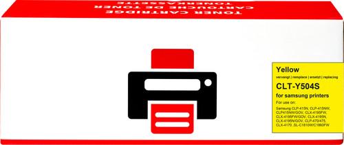 Pixeljet CLT-Y504S Toner Geel voor Samsung printers Main Image