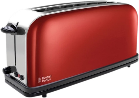 Russell Hobbs Colors Long Slot Red Main Image