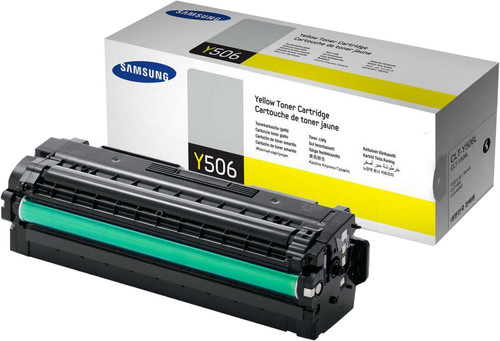 Samsung CLT-Y506L Toner Geel XL Main Image
