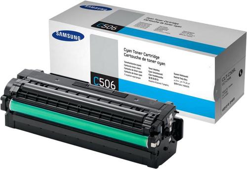 Samsung CLT-C506L Toner Cyaan XL Main Image