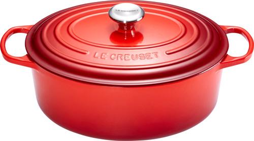 Le Creuset Ovale Stoof-/Braadpan 27 cm Kersenrood Main Image