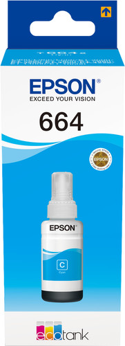 Epson 6642 Inktflesje Cyaan Main Image