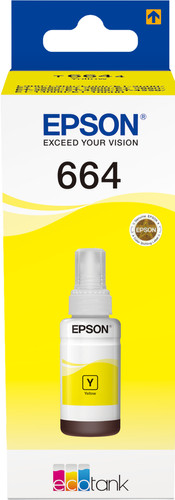Epson T6644 Ink Bottle Yellow Main Image