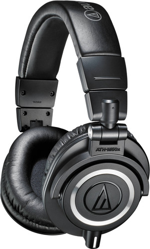 Audio-Technica ATH-M50X Black Main Image