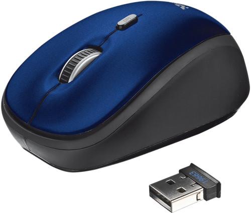Trust Yvi Wireless Mouse Blue Main Image