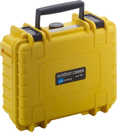 B & W type 500 yellow with picking foam Main Image