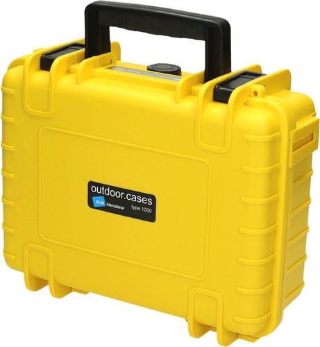 B & W type 1000 yellow with picking foam Main Image