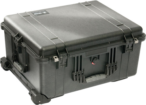 Pelicase 1610 Black with Pick 'n Pluck Foam Main Image