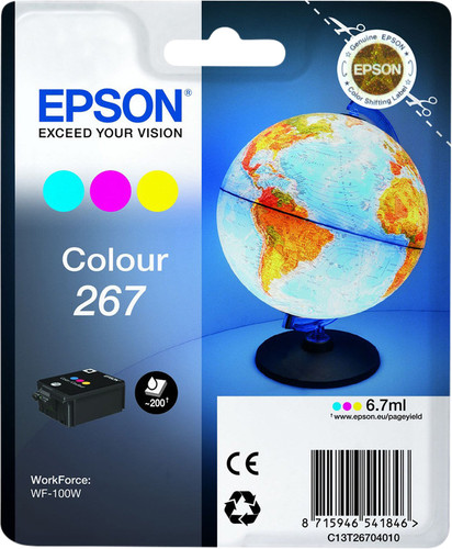 Epson 267 Cartridge Color Main Image