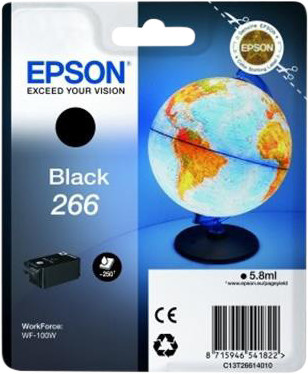 Epson 266 Cartridge Black Main Image