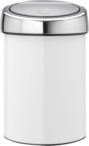 Brabantia Touch Bin 3 Liters White Main Image