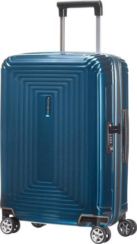 Samsonite Neopulse Spinner 55cm Metallic Blue Main Image
