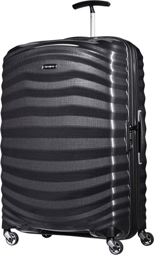 Samsonite Lite-Shock Spinner 75cm Black Main Image