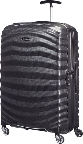 Samsonite Lite-Shock Spinner 69cm Black Main Image