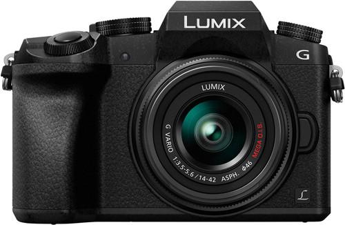 Panasonic Lumix DMC-G7 Zwart + 14-42mm Main Image