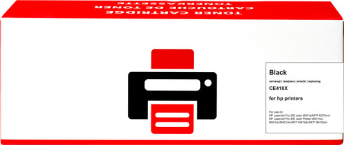 Pixeljet 305X Toner Zwart XL voor HP printers (CE410X) Main Image