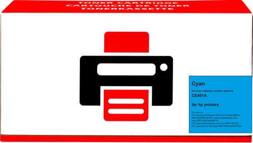 Pixeljet 507A Toner Cyaan voor HP printers (CE401A) Main Image