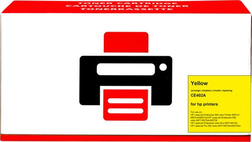 Pixeljet 507A Toner Geel voor HP printers (CE402A) Main Image