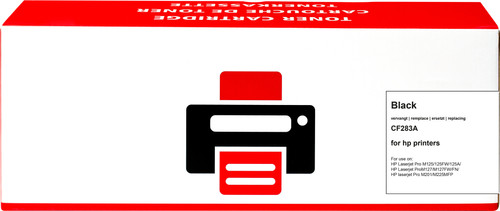 Huismerk 83A Toner Zwart voor HP printers (CF283A) Main Image