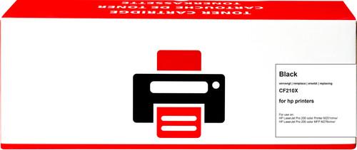 Pixeljet 131X Toner Zwart XL voor HP printers (CF210X) Main Image