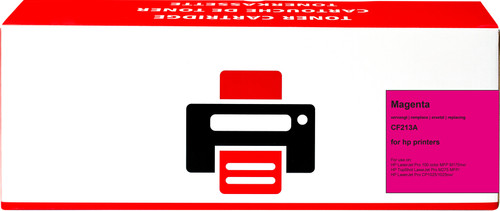 Pixeljet 131A Toner Magenta voor HP printers (CF213A) Main Image
