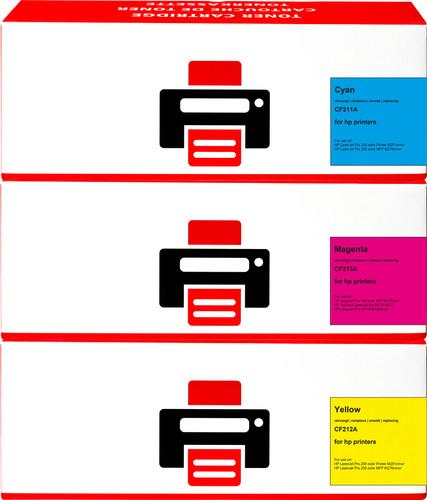Pixeljet 131A Toner 3-Kleuren voor HP printers (U0SL1AM) Main Image