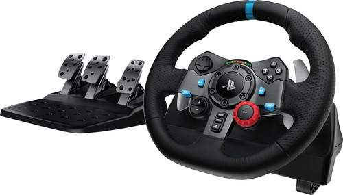 Logitech G29 Driving Force - Racing Wheel for PlayStation 5, PlayStation 4, and PC Main Image