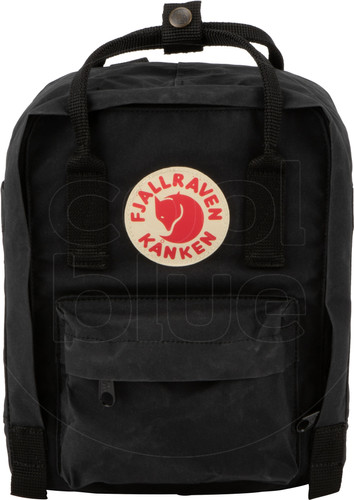 Fjällräven Kånken Mini Black 7L - Children's backpack Main Image