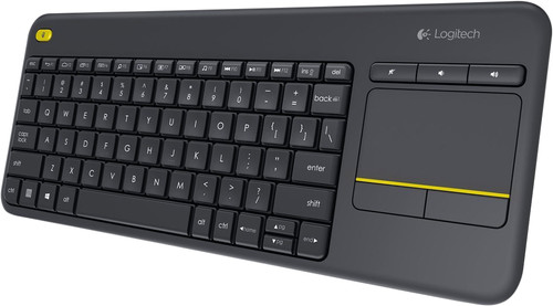 Logitech K400 Plus Wireless Touch Zwart QWERTY Main Image