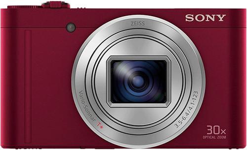 Sony CyberShot DSC-WX500 rood Main Image